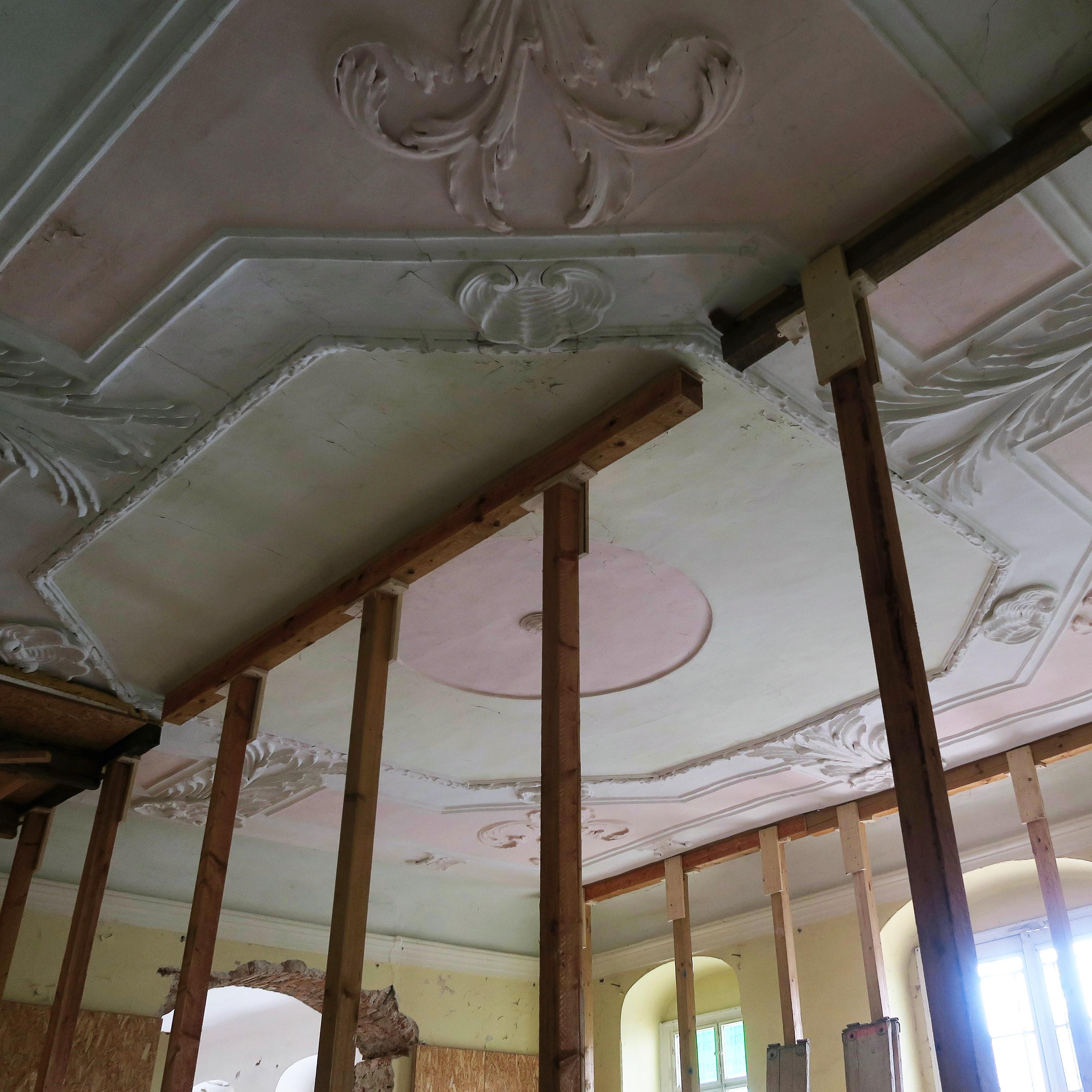 Rittergut Prossen | Werkstatt für Stuck und Stuckrestaurierung
